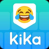 Ícone do Kika Emoji Keyboard - GIF Free