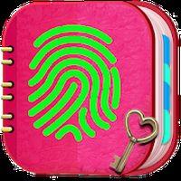 Ícone do apk Meu diário pessoal com impressão digital
