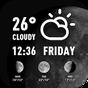 World weather widget& moon phrase information 14.0.0.4370