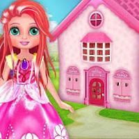 APK-иконка девушка Кукла дом Декорирование Мечта Главная Игр