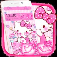 ไอคอน APK ของ Pink Princess Kitty Theme