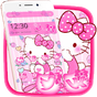 Pink Princess Kitty Theme 1.1.2 APK
