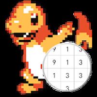 Unicorn Pokez - Color By Number APK icon