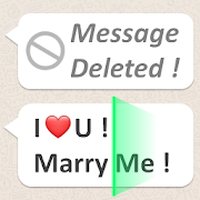 Check Deleted Messages For Whatsp apk icon