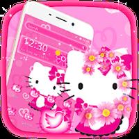 ไอคอน APK ของ Cute Kitty Pink Cat Theme
