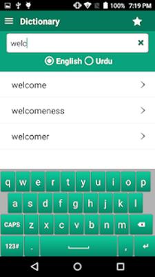 English Urdu Dictionary Offline Free + Roman Android - Free