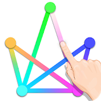 One Line Draw: One Stroke Drawing Puzzle Game APK Simgesi