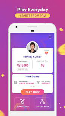 GameShow - Live Quiz Game App to Earn money online Android