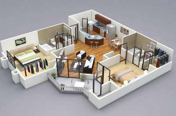 3D Home Design Image 2