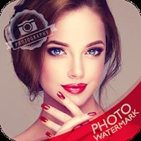 Add Photo Watermark icon
