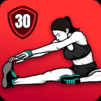 ストレッチエクササイズ - 柔軟トレーニング アイコン