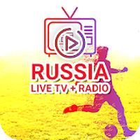APK-иконка Российские каналы прямого эфирного ТВ и FM-радио