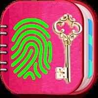 Ícone do apk Diário Pessoal Rosa com senha de impressão digital