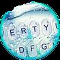 Blue Glass Water Drops Keyboard Theme 6.9.12.2018