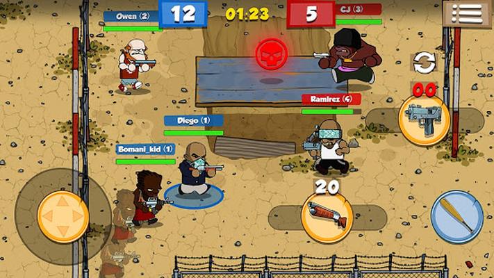 Prison Brawl Android - Free Download Prison Brawl App - AMT Games