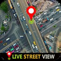 GPS canlı sokak haritası ve seyahat navigasyon APK Simgesi