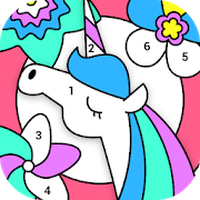 Ícone do Paint By Number - Free Coloring Book & Puzzle Game