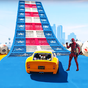 Superheroes Sports Car Chaser: Real Turbo Racing 1.1 APK