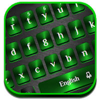 Green Black Metal Keyboard icon