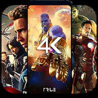4K Superheroes Wallpapers - Live Wallpaper Changer APK Simgesi