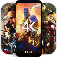4K Superheroes Wallpapers - Live Wallpaper Changer Simgesi