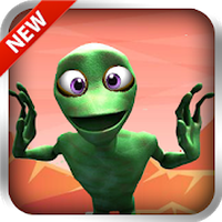 Ícone do apk Green Alien Dance: Rhythm