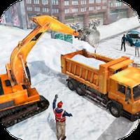 Snow Heavy Excavator Simulator Simgesi