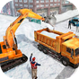 Snow Heavy Excavator Simulator 4.0