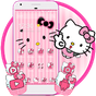 Hello Princess Kitty Pink Cute Cartoon Theme 1.1.2 APK