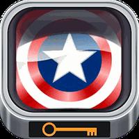 Captain America Lock Screen apk icon
