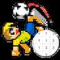 nghệ thuật điểm ảnh bóng đá - màu theo số  APK
