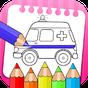 veículos para colorir livro e livro de desenho 1.0.6
