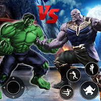 Infinity Superheroes vs Immortal Gods: Karate Game apk icon