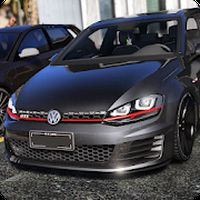 Real Car Driving Golf apk icon