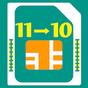 Chuyển đổi sim 11 số thành 10 số 1.6