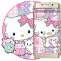 Pink Cute Kitty Theme 1.1.2