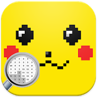 Pika Pixel Art - New Pokemon Coloring By Numbers APK Icon