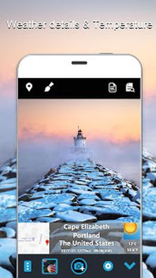 GPS & Weather Camera: Add GPS, Weather to Picture Screenshot apk 3