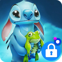 Wallpaper Lilo Stitch Phone Lock apk icono