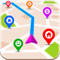 GPS-routevinder APK icon