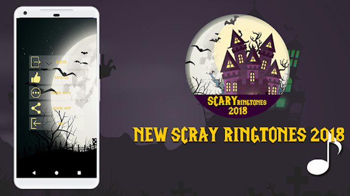Scary Ringtones & Sounds 2018 & Ghost mp3 ☠ Android - Free