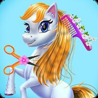 Fairy Pony Horse Mane Braiding Salon Simgesi