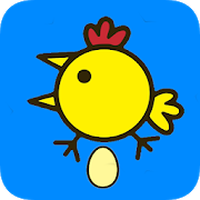 Apk Happy Chicken Lay Eggs Game - Maiale rosa