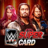 Иконка WWE SuperCard: Элементы WWE и карточных поединков