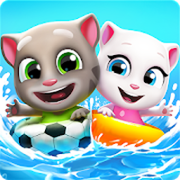 Icône de Talking Tom Pool