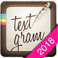Ícone do apk Textgram - write on photos