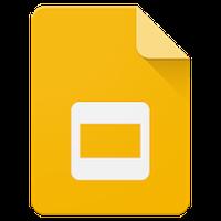 Google Slaytlar Simgesi