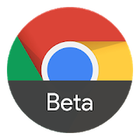 Icône de Chrome Beta