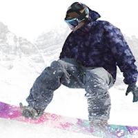 Icône de Snowboard Party Lite