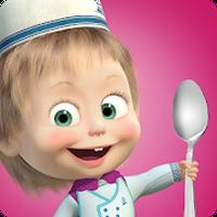 Biểu tượng Masha Nấu ăn dash và bữa tối